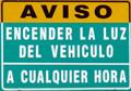 Dominicaanse republiek verkeersborden - Dr picture essing onder helling ...